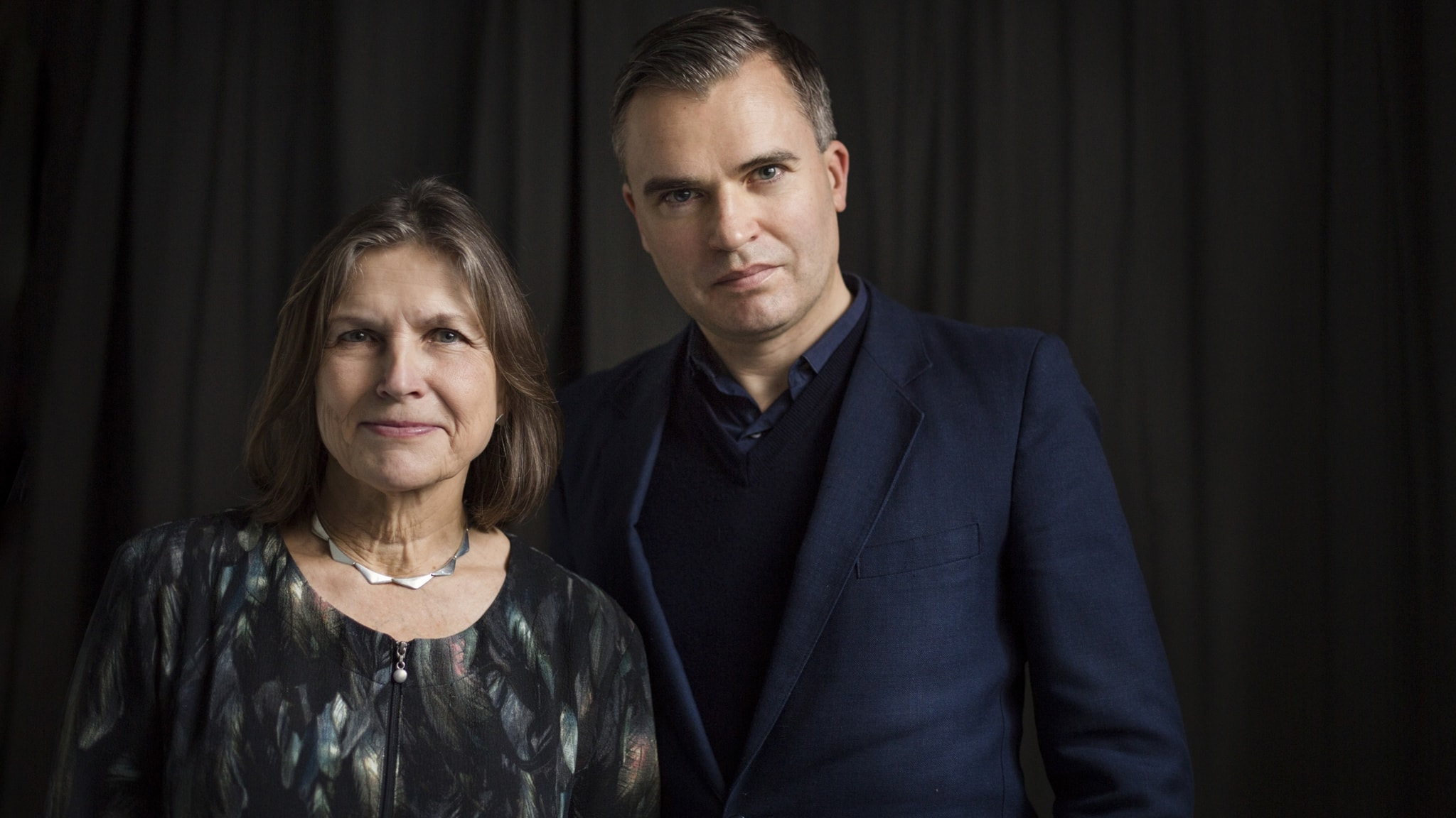 Ingrid Elam och Jerker Virdborg