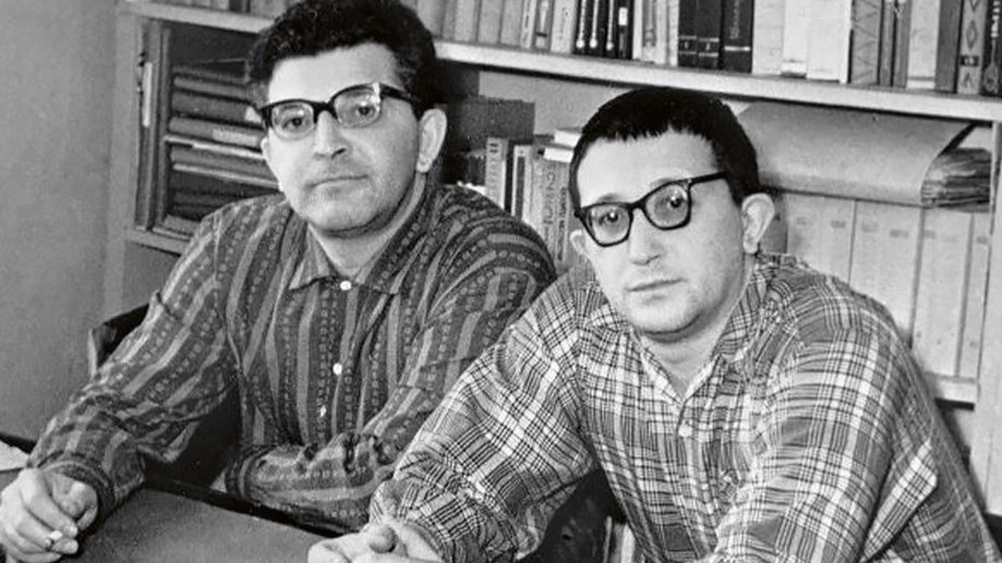 Bröderna Arkadij och Boris Strugatskij.