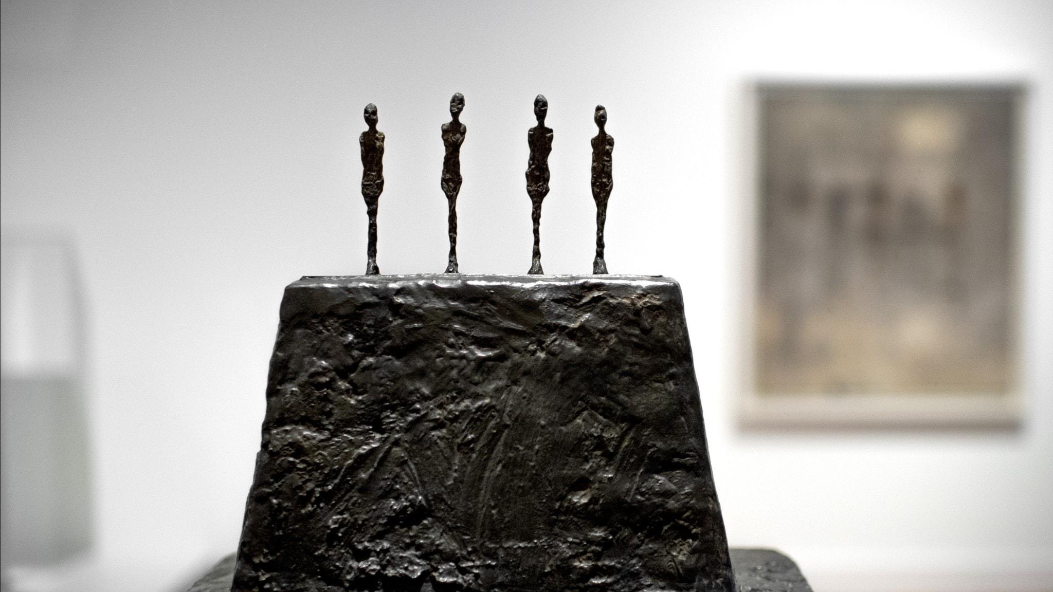Modernas Giacometti-utställning vill rucka på gamla föreställningar