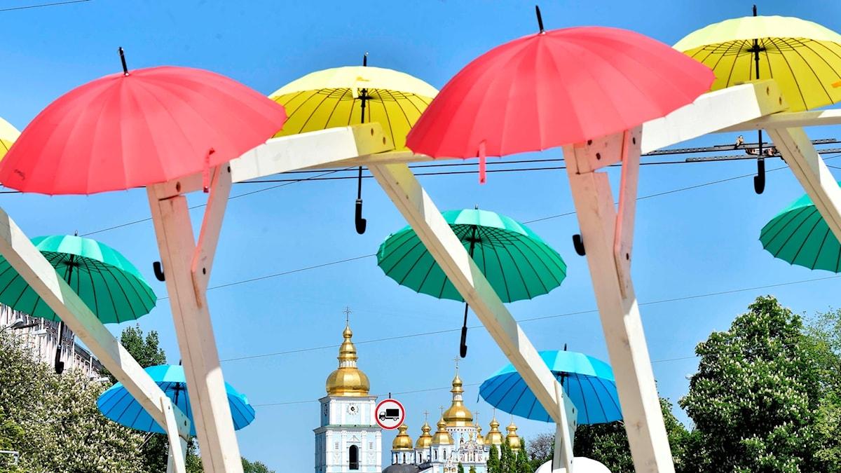 I år hålls ESC-finalen i Kiev i Ukraina.
