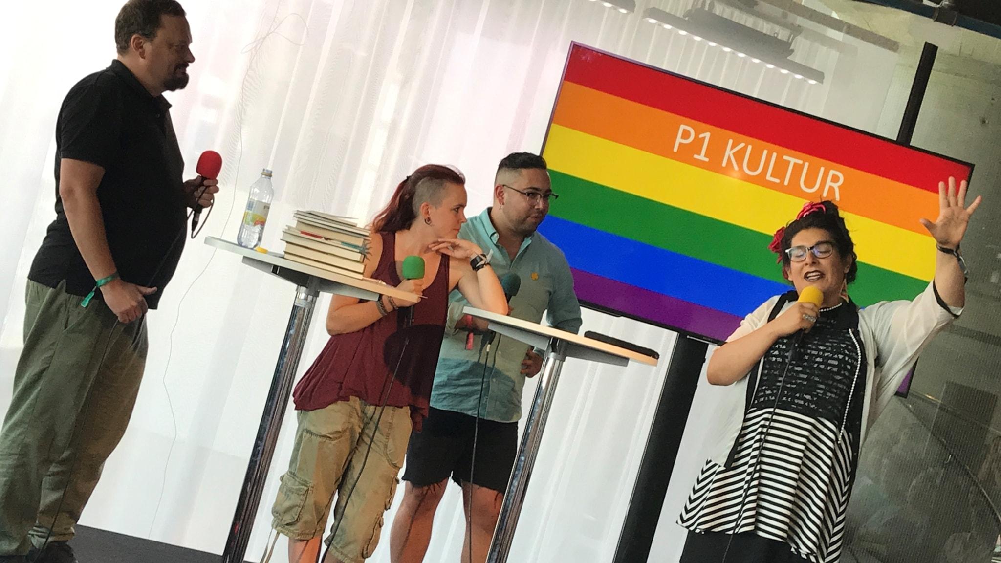 Den svenska queerlitteraturvågen