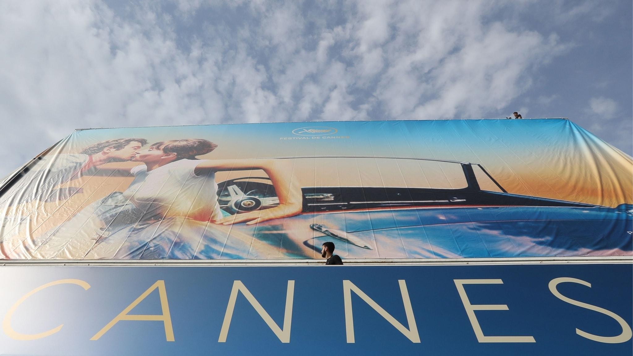 Postern för filmfestivalen i Cannes 2018.