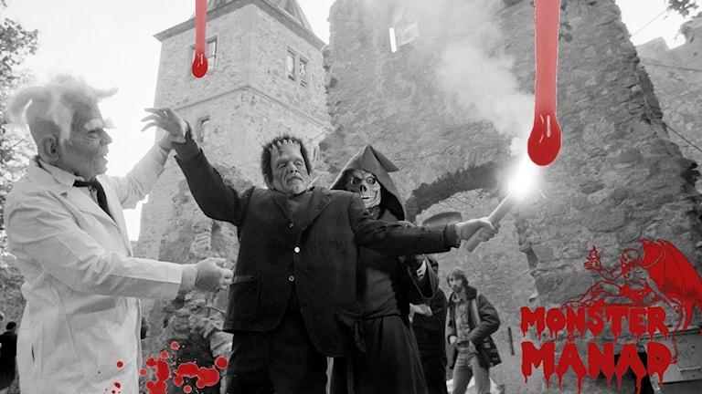 Frankensteins monster.