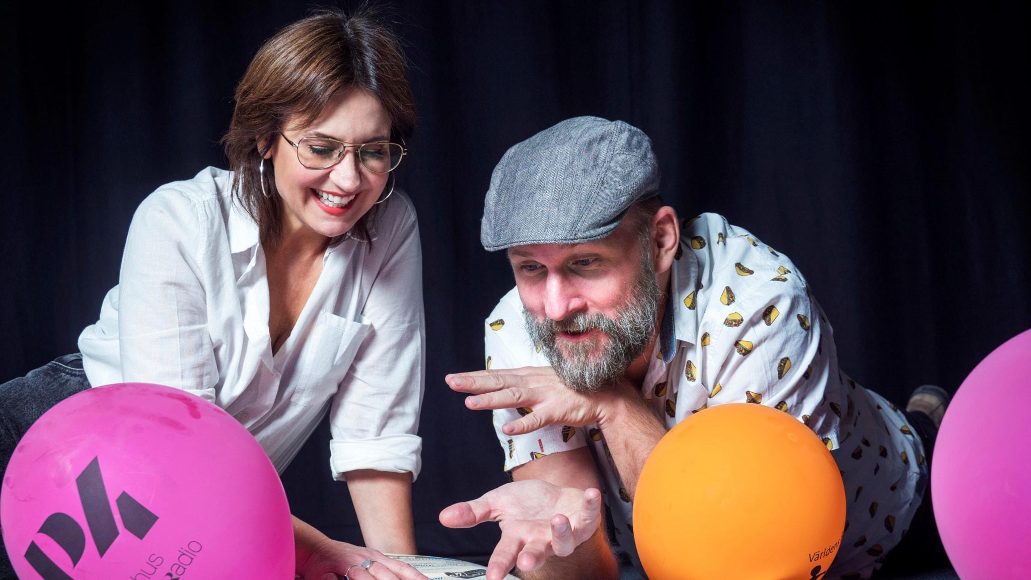 Med Susanna Dzamic och Kalle Lind