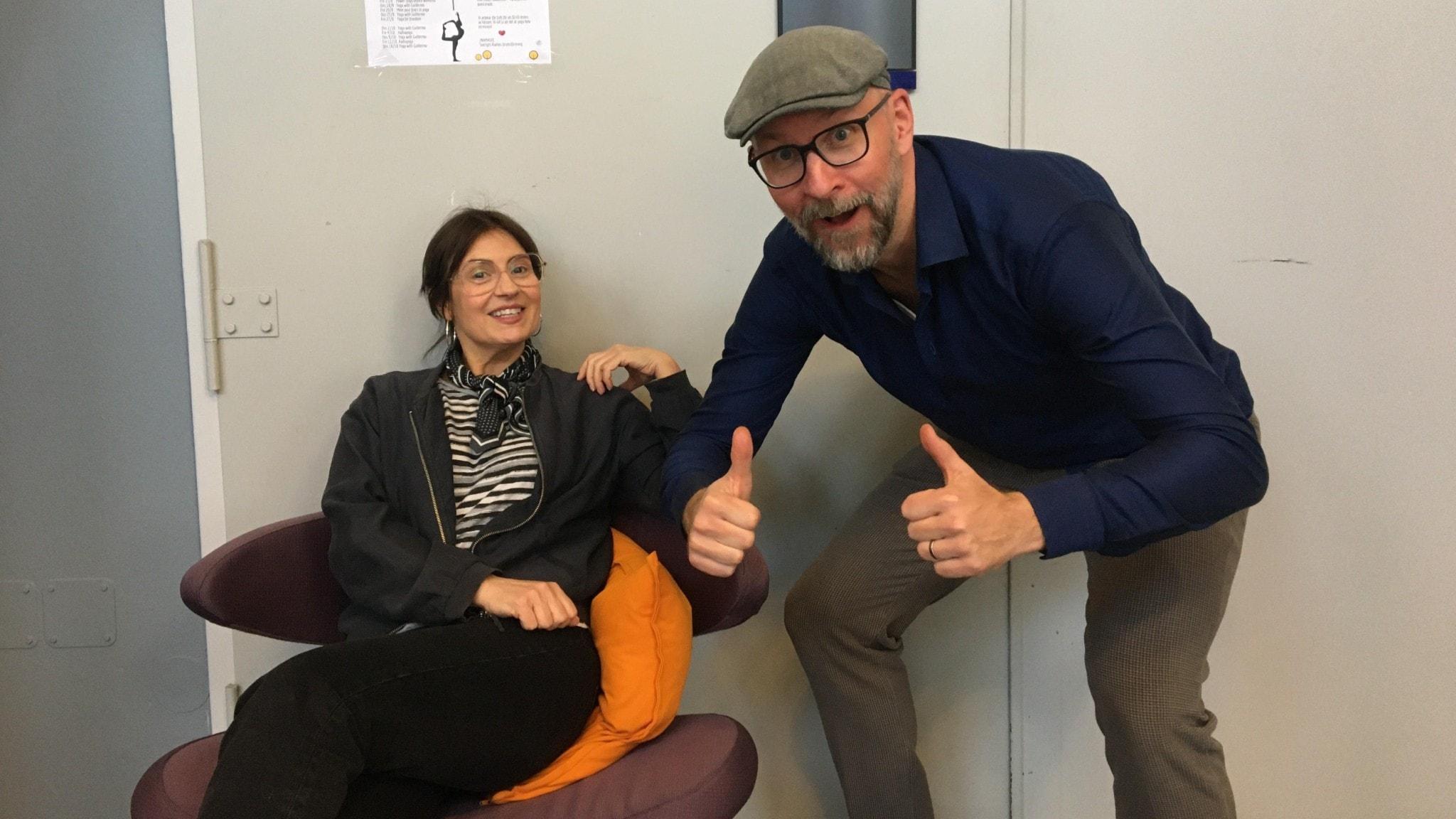 Fredag i P4 leds av Susanna Dzamic och Kalle Lind.