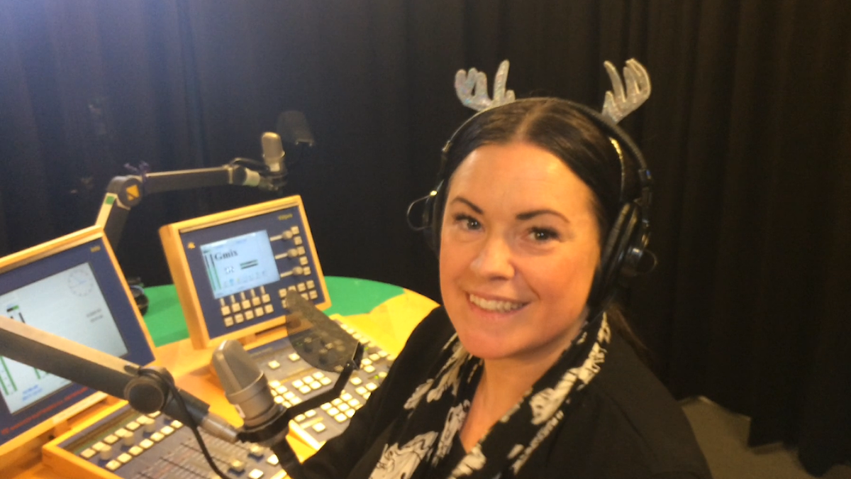 Martina Thun i Fredag i P4 den 29 december 2017