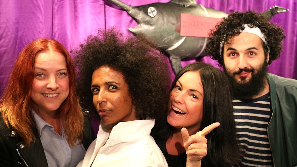 I premiärprogrammet gästas Martina Thun av Marika Carlsson, Soran Ismael och Shirley Clamp.