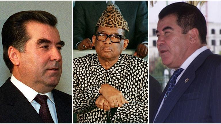 Diktatorerna kollage
