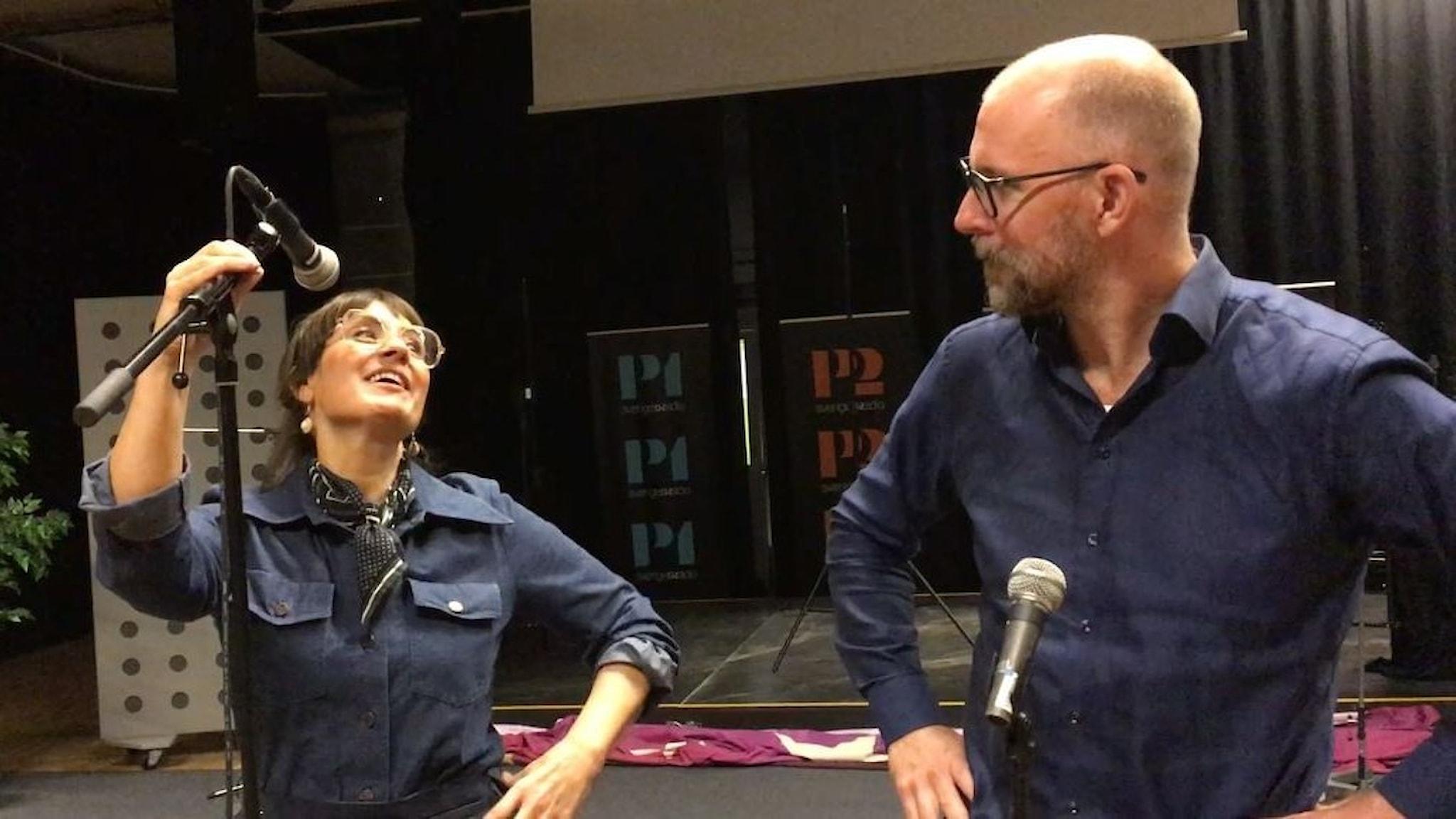 Susanna Dzamic och Kalle Lind leder Fredag i P4.