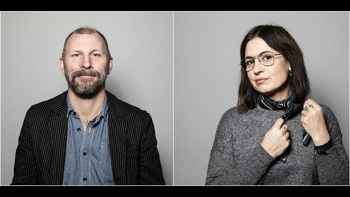 Kalle Lind och Susanna Dzamic