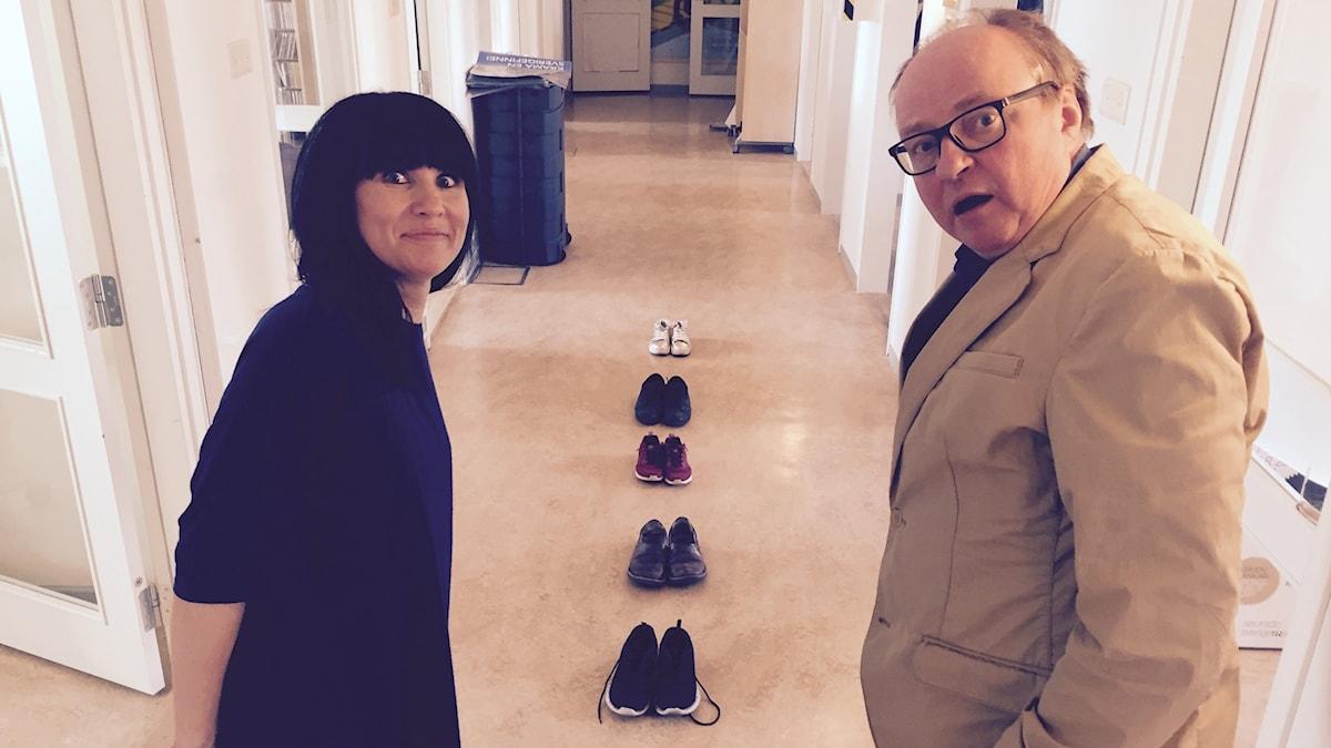 Hanna, kengät ja Jorma