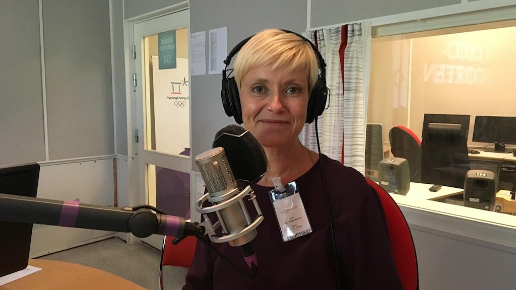 Anna-Kaisa Auvinen Iltapäivän studiossa