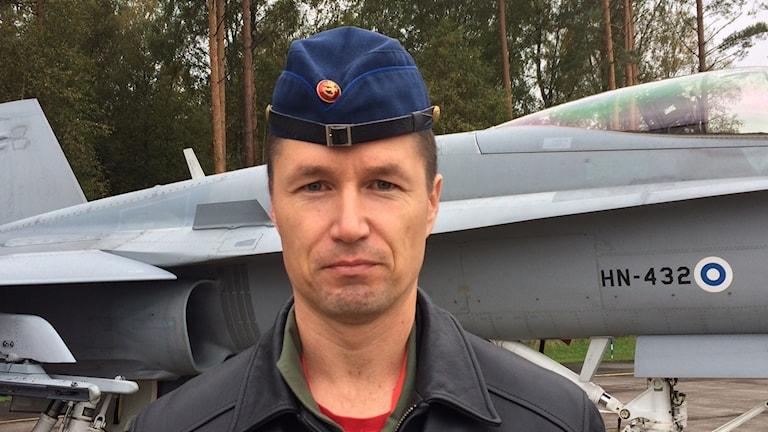 Everstiluutnantti Tomi Böhm.