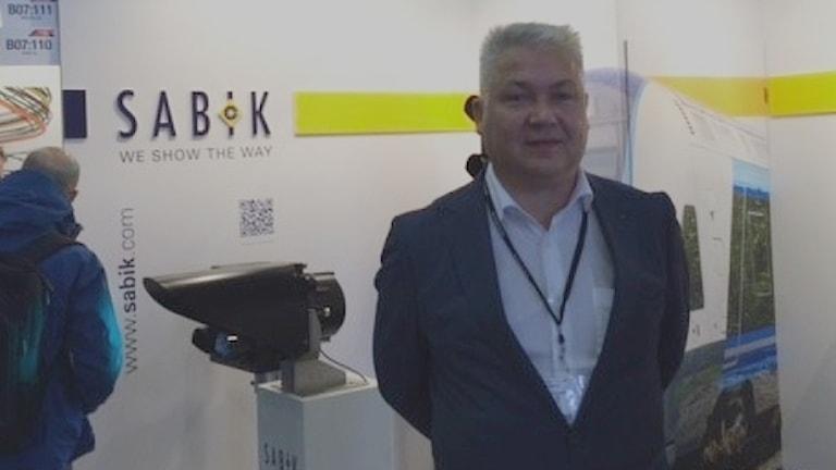 Sabik OY:n projektipäällikkö Kari Taskula.