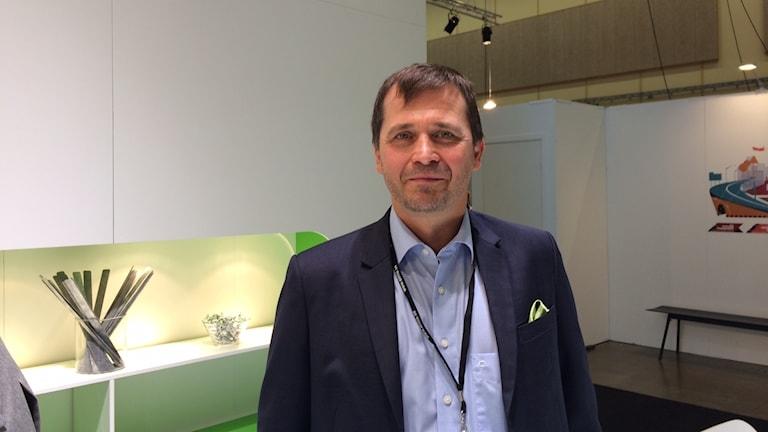 VR Track-yhtiön johtaja Harri Yli-Villamo.