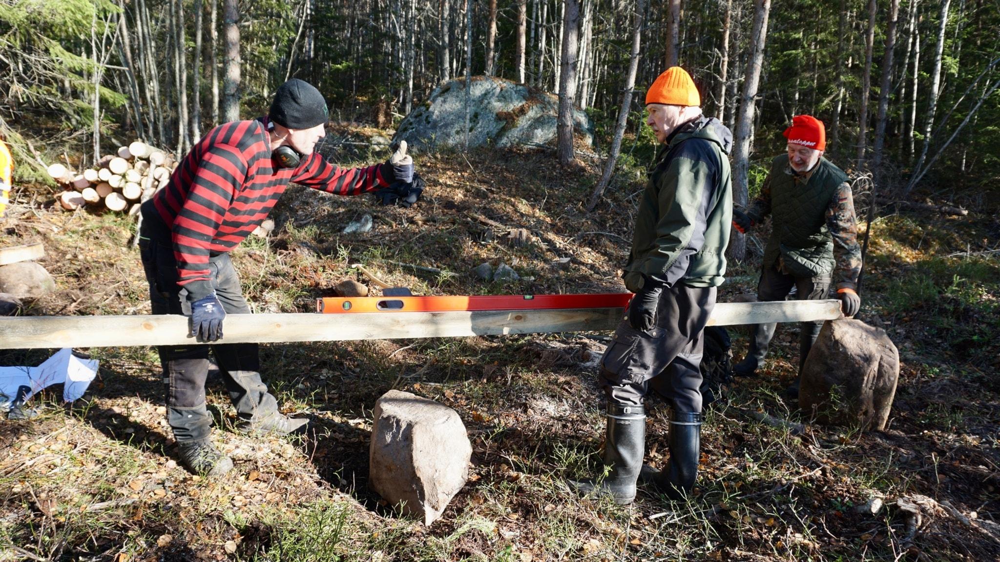 Saunan löylyjä suomalaismetsien vaeltajille