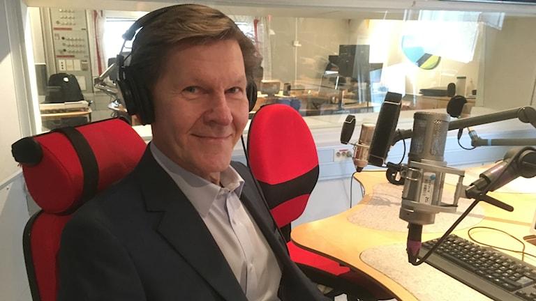 Jukka Kuusisto Iltapäivän studfiossa.