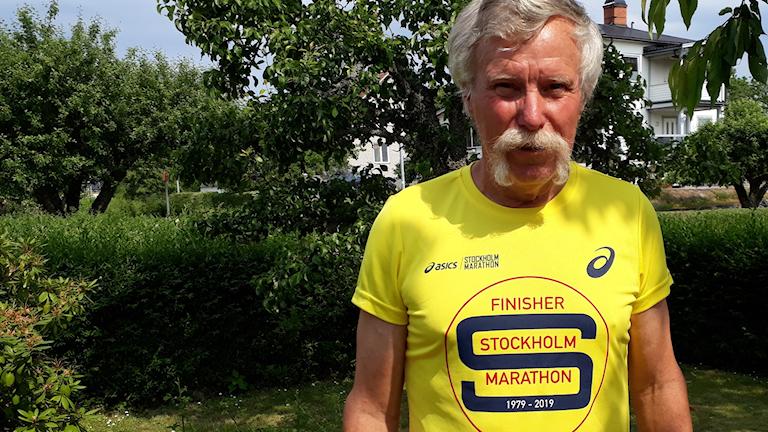 Överumilainen Matti Pylkkänen on juossut nyt jo 168 maratonia ja seuraavan hän juoksee Puolassa elokuussa.