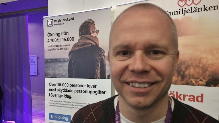 Lasse Mattila på Bokmässan