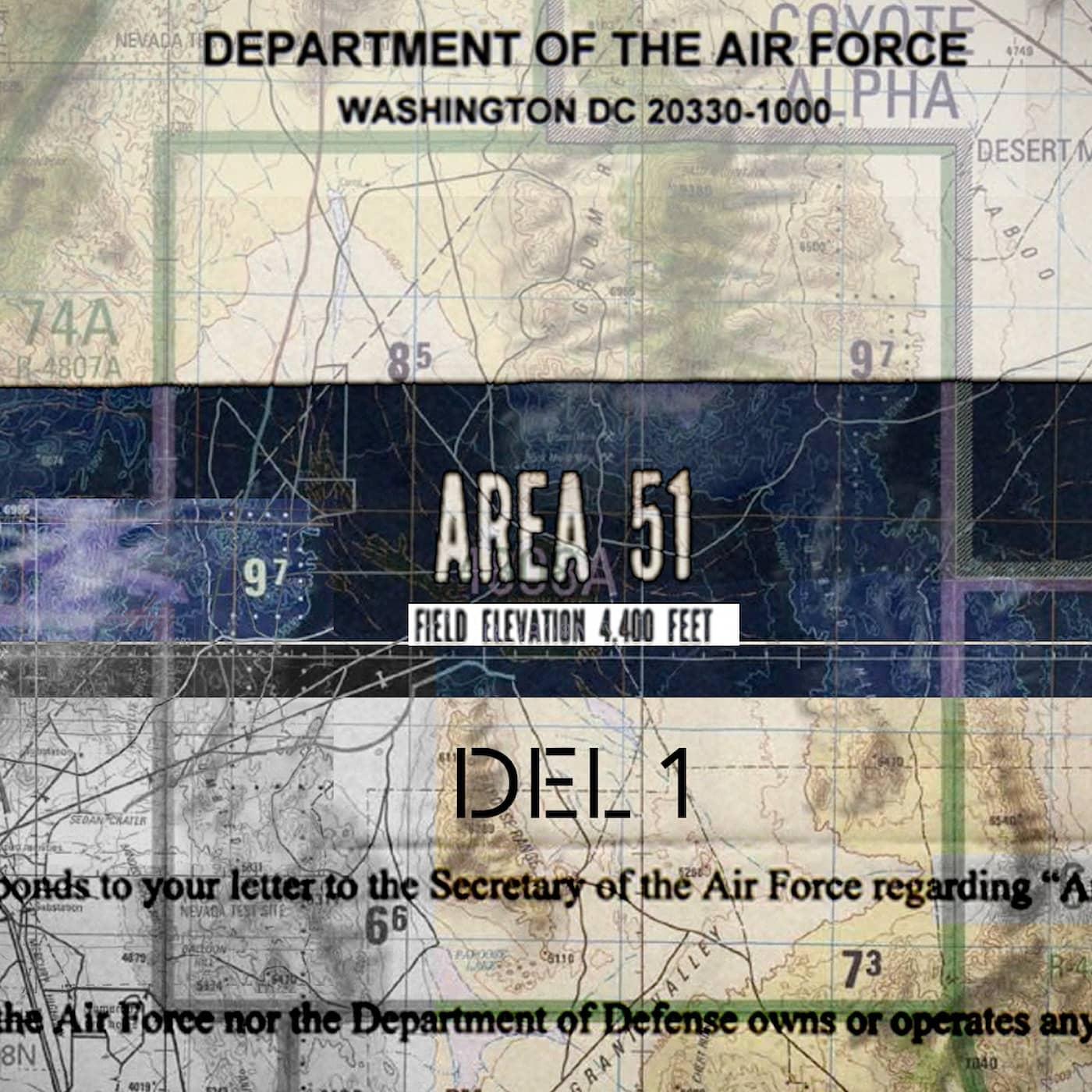 Mysteriet Area 51 och Bob Lazar (del 1 av 2)