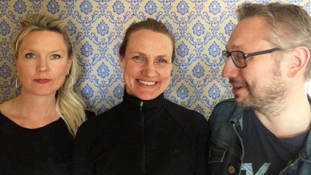 Victoria Rixer, Tanja Lorentzon och Kristian Borg