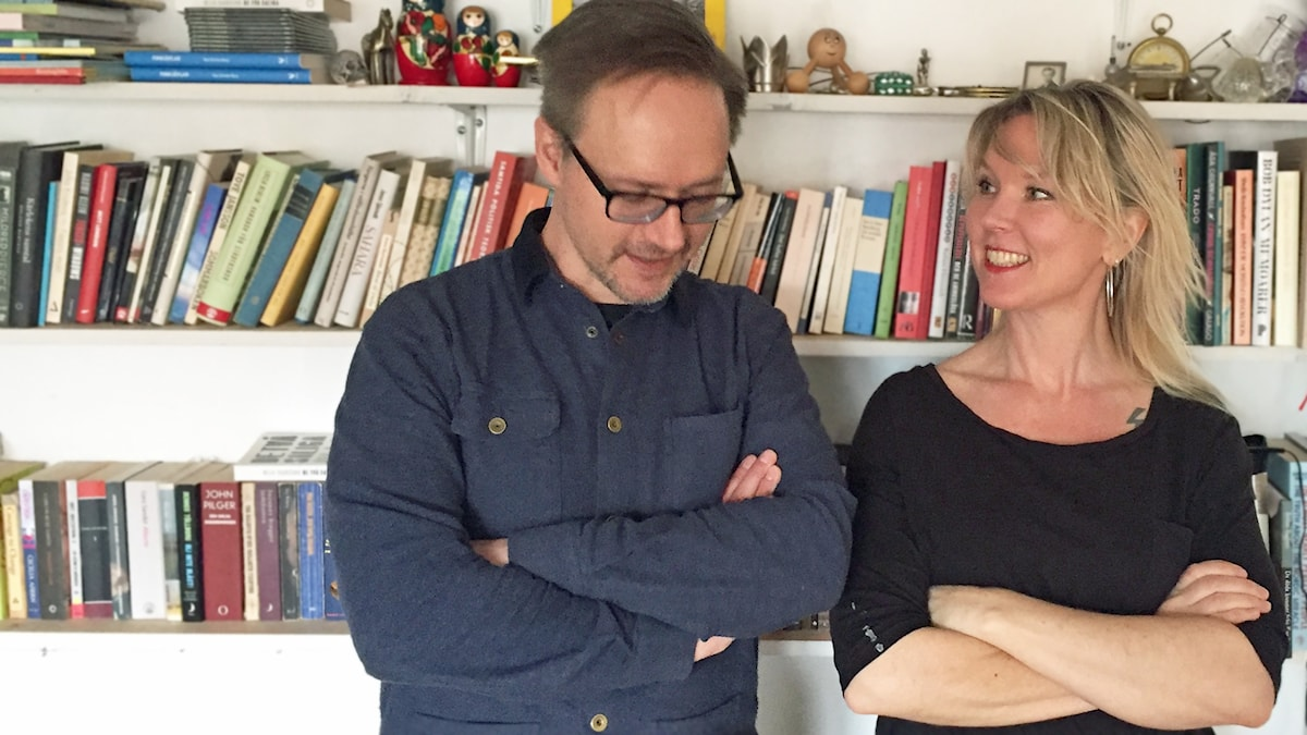 Erik Regnström och Victoria Rixer