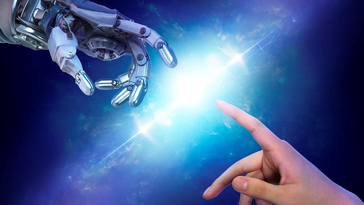 Programbild för Robotarna kommer