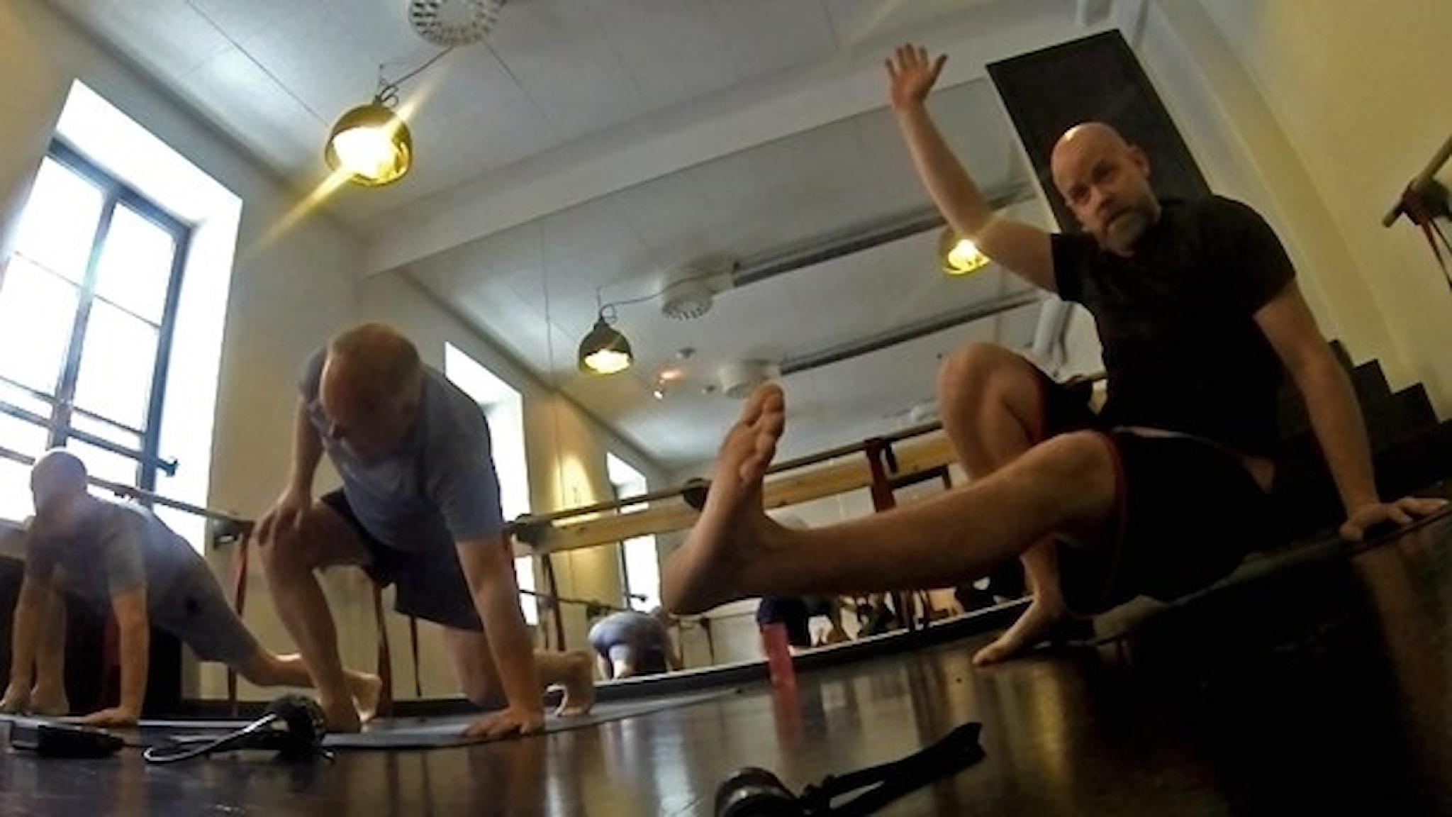 Martin Marhlo och Lasse Persson.