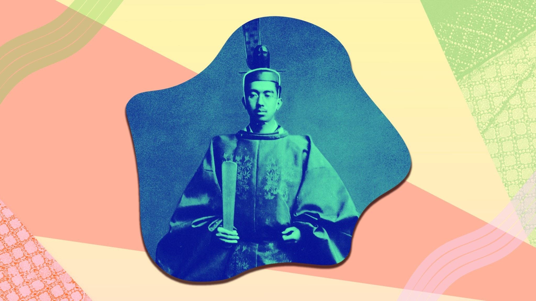 Bild av Kejsar Hirohito.