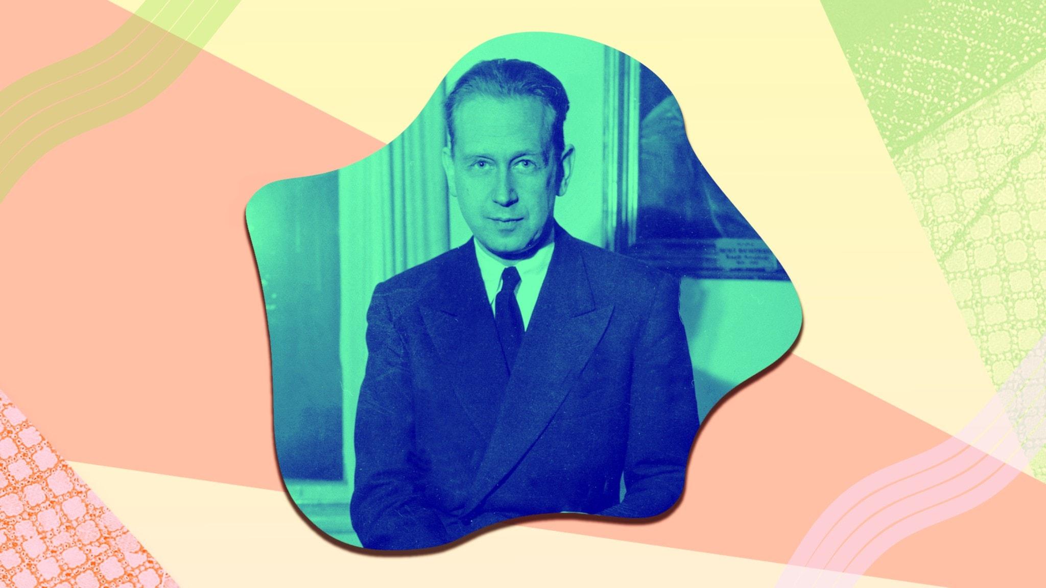 Bild på Dag Hammarskjöld