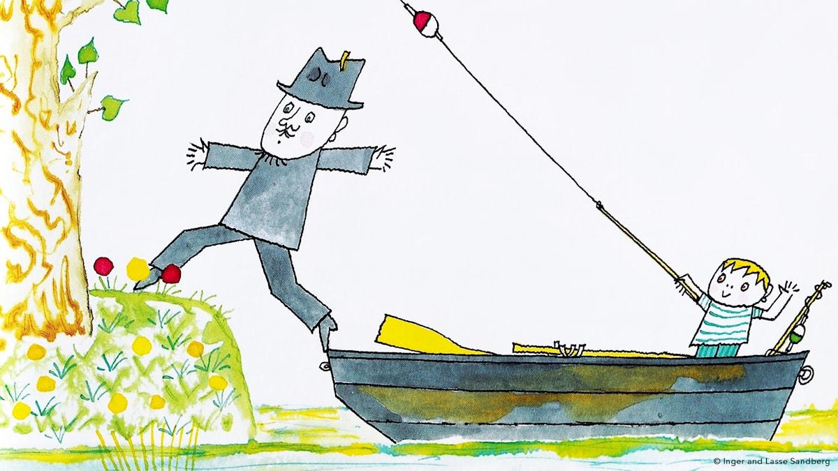 Pulvret del 3: Fixa fisk. © Inger and Lasse Sandberg