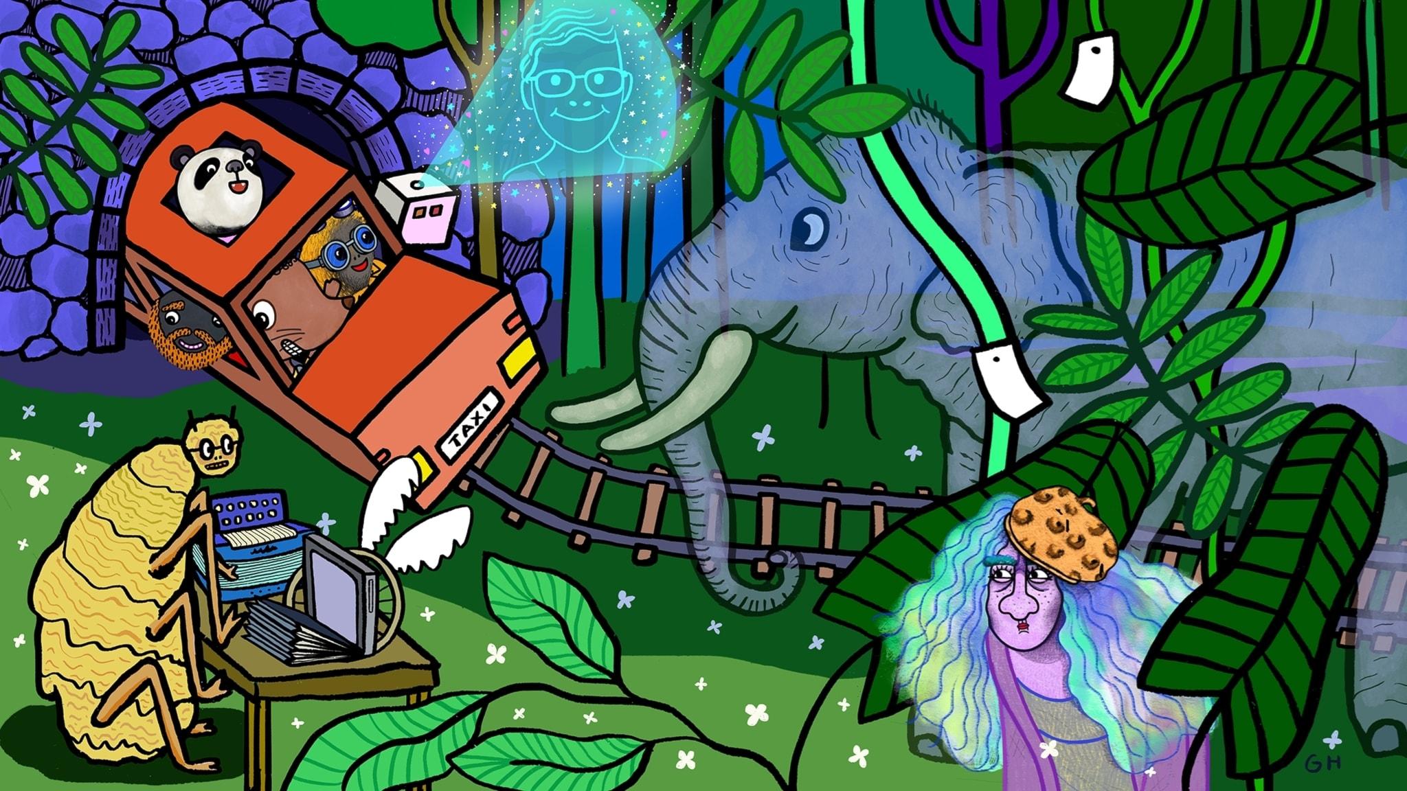 Magiska skogen räddar världen, del 5: Rädda djuren!