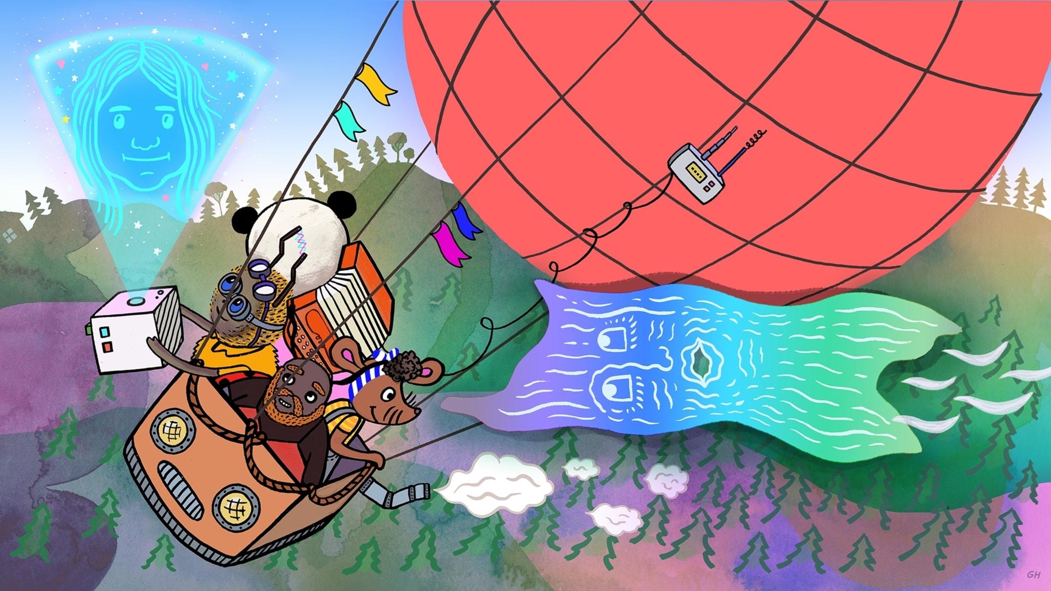 Magiska skogen räddar världen, del 3: Hilmas pruttballong