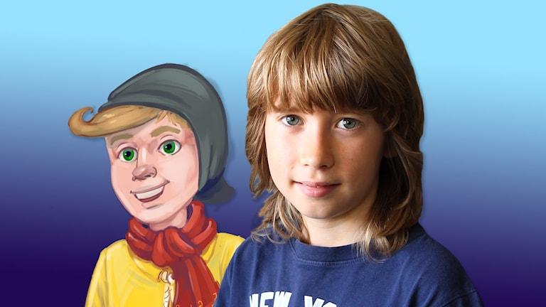 Elis Lindsten spelar huvudrollen Hugo.