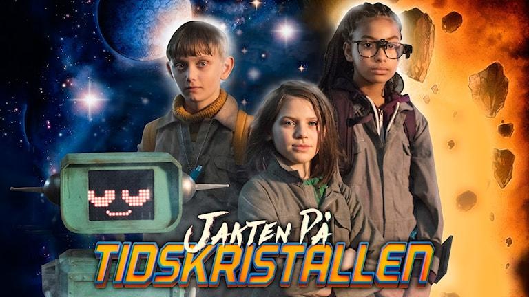 Jakten på tidskristallen, Barnkanalens julkalender. Foto: SVT