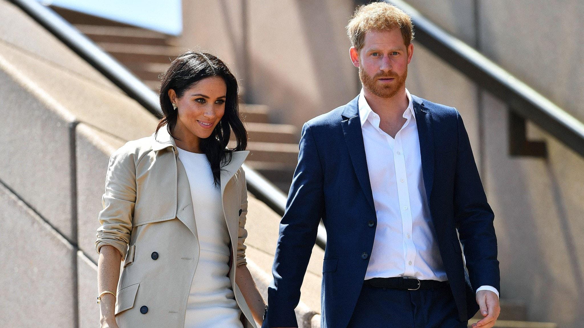 Brittiska Hertigparet Harry och Meghan