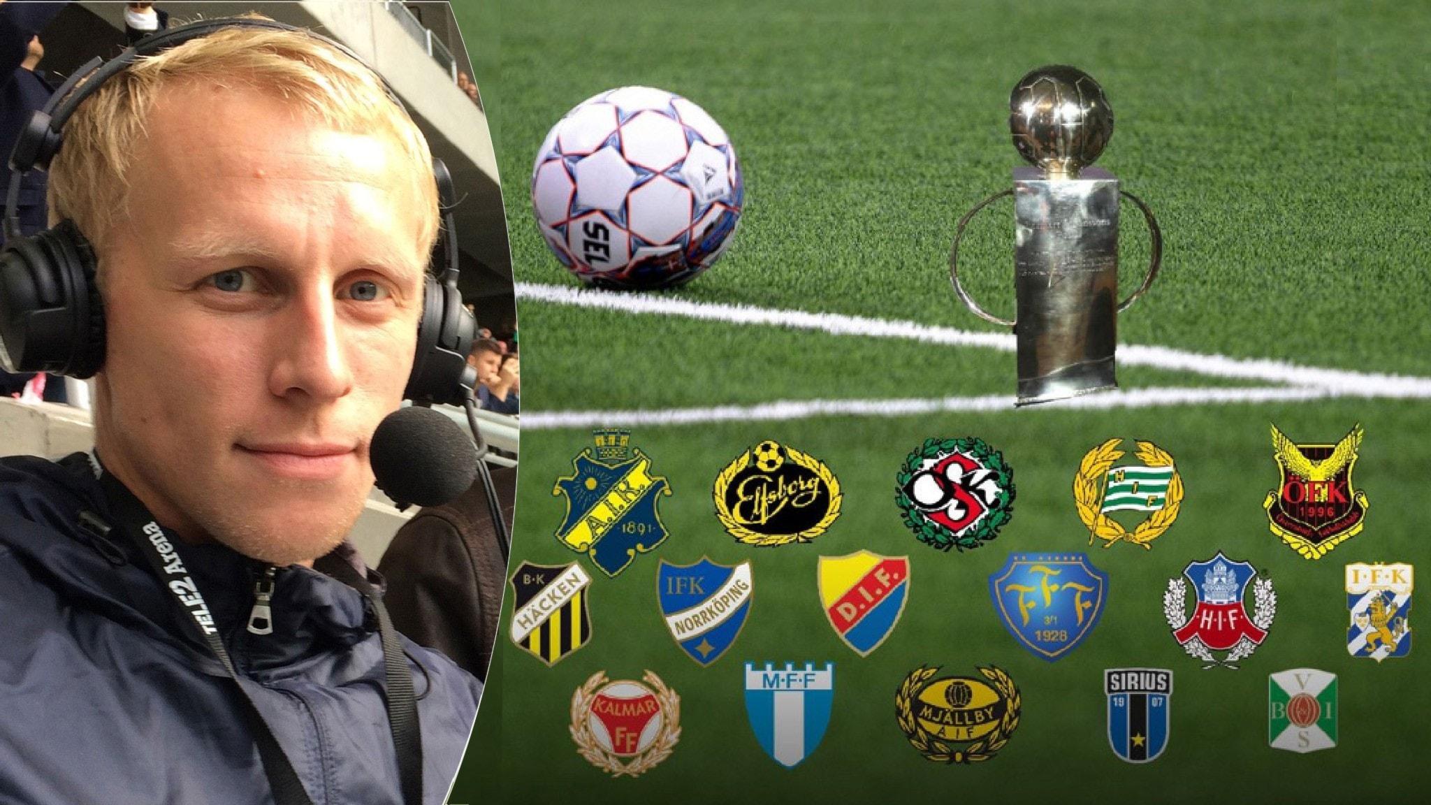 Radiosportens fotbollsexpert Richard Henriksson