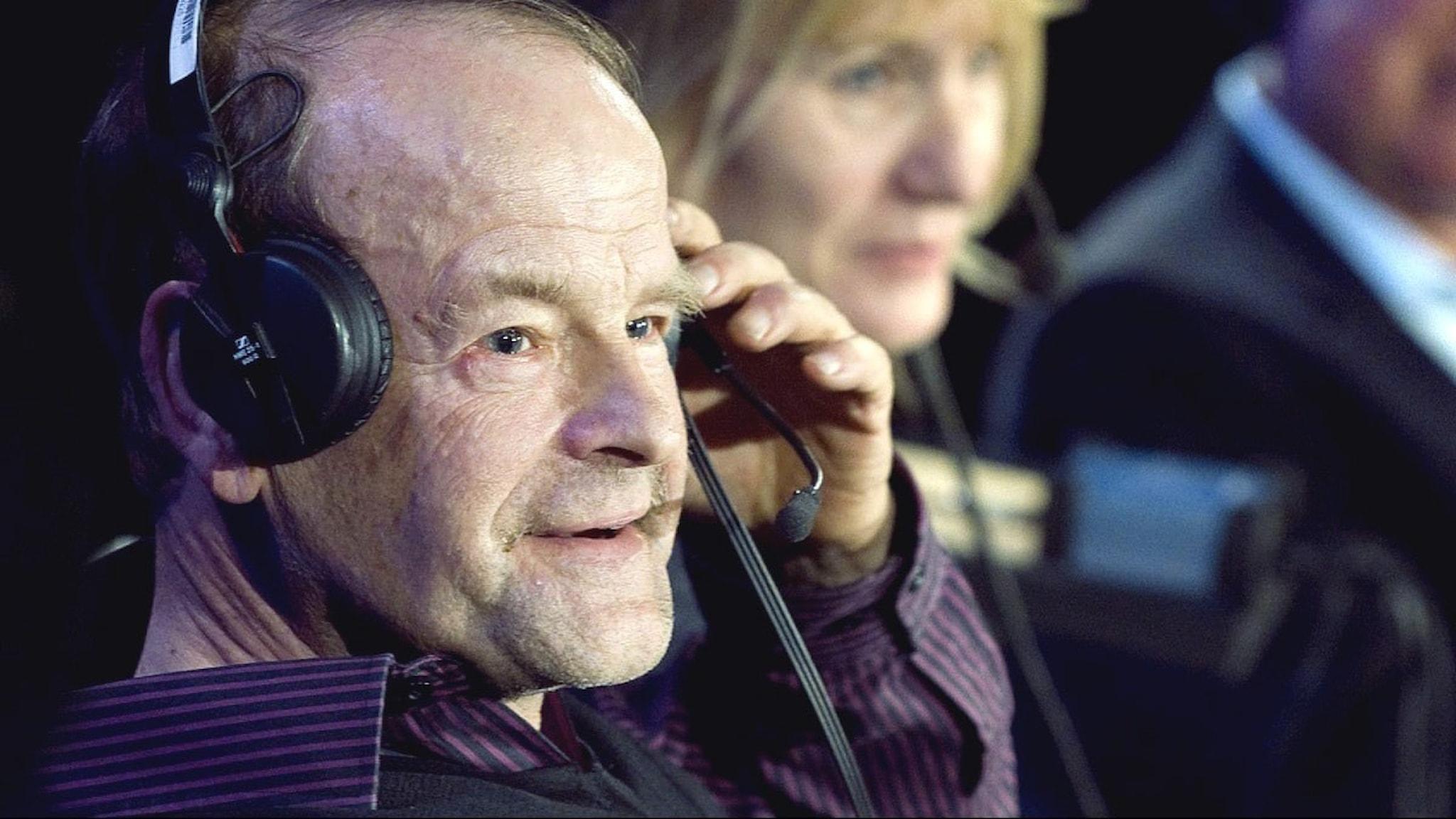 Radiosportens kommentator Mats Strandberg