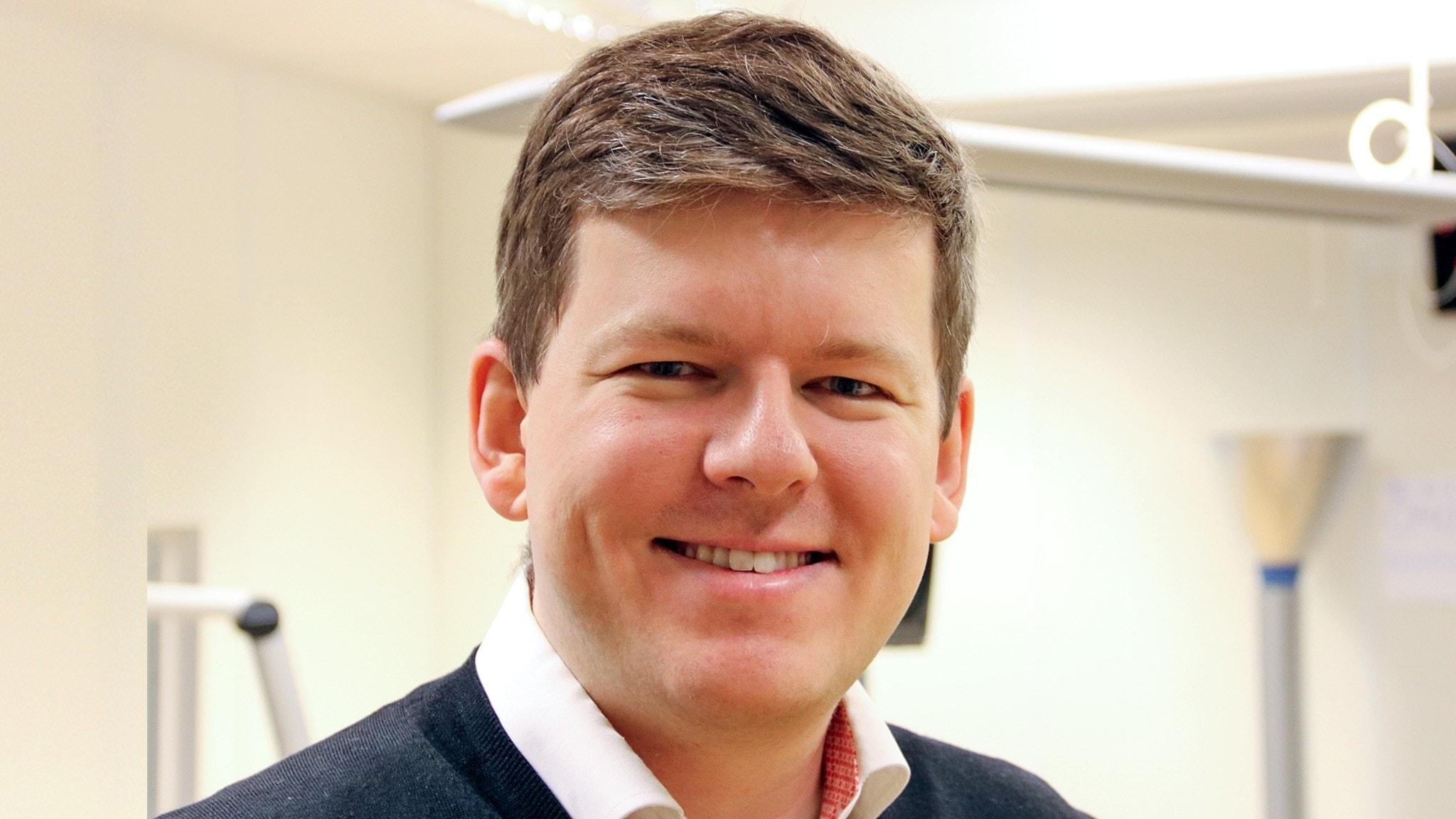 Jan Bolmeson, bloggare i Malmö som ger råd om privatekonomi