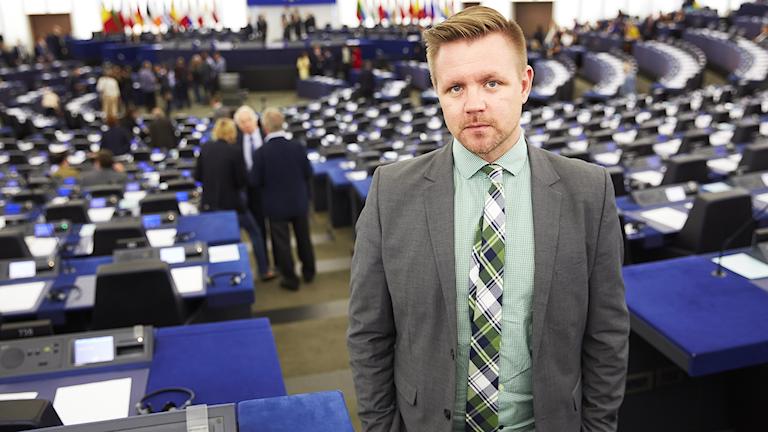 Centerpartiets EU-parlamentariker Fredrick Federley.
