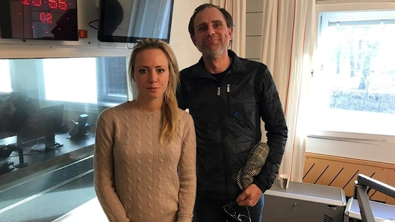 Peter Wahlbeck möter Carolina Neurath
