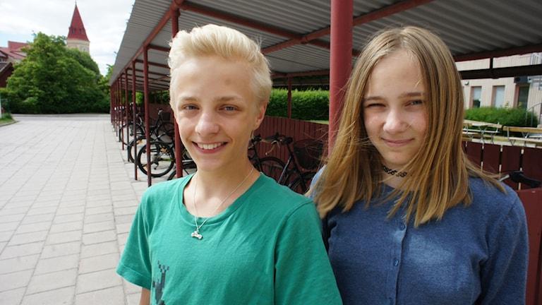 Tuva och Ville Carlsson.