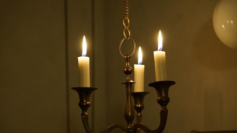 Ljus i mörkret.