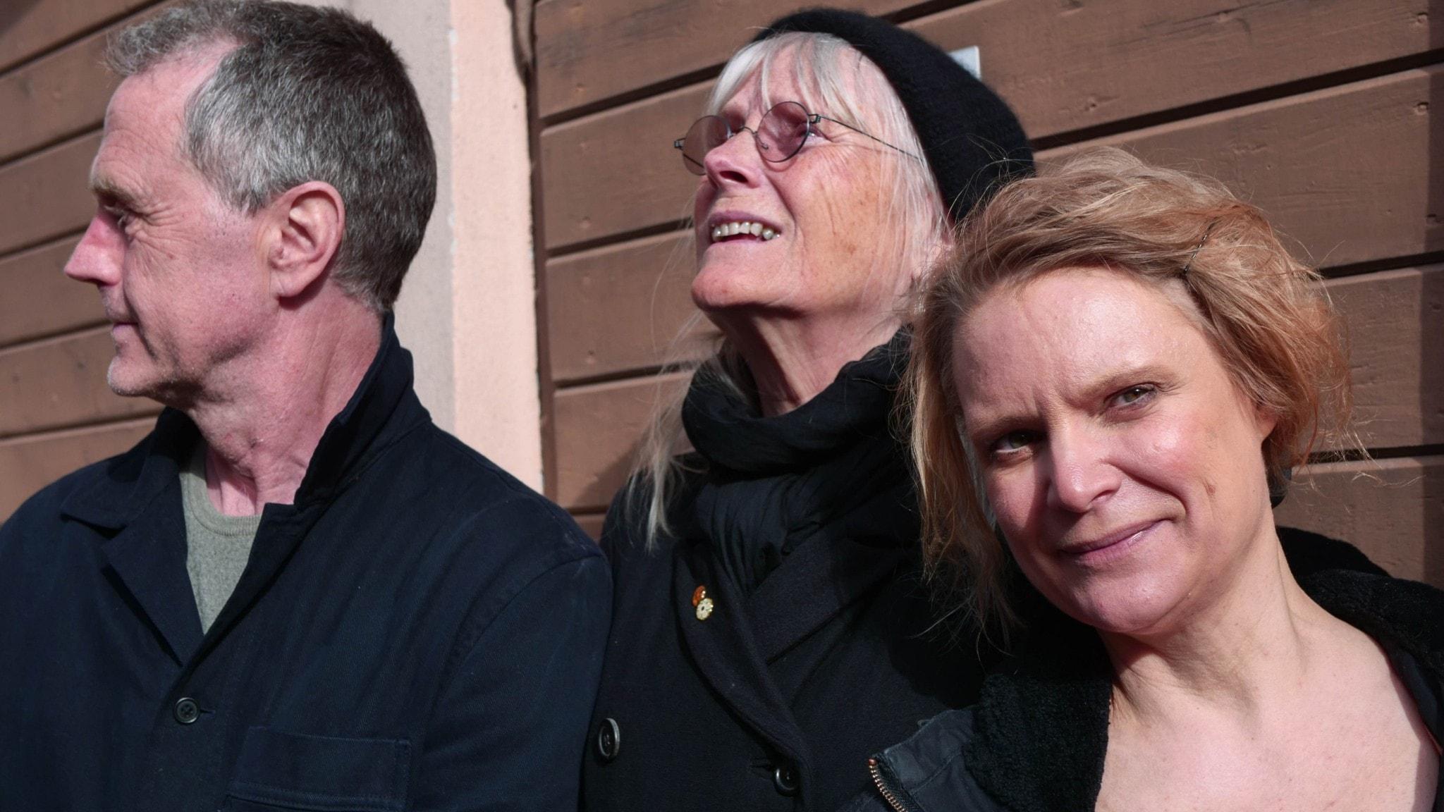 Stephan Fickler, Ulla Skoog och Cathrine Bülow.