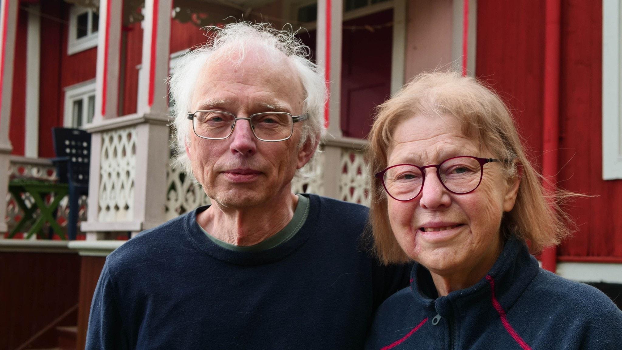 Lars Sundin och Karin Haglund.