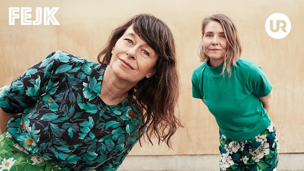 Anna Charlotta Gunnarson och Agneta Karlsson