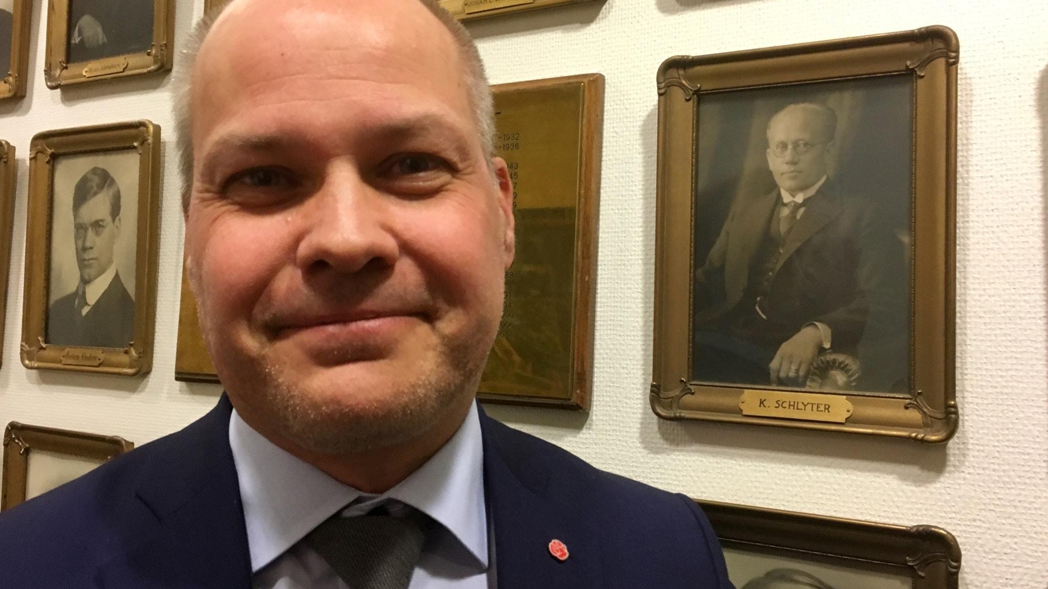 Justitieminister Morgon Johansson
