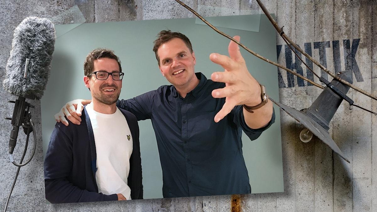 Marcin de Kaminski pratar med Kjell om en digital allemansrätt.