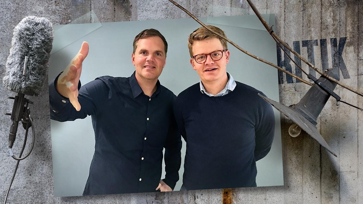 Kjell Eriksson får tips på hur han kan ta sig ur t.ex. en ekorre-bubbla av Per Grankvist.