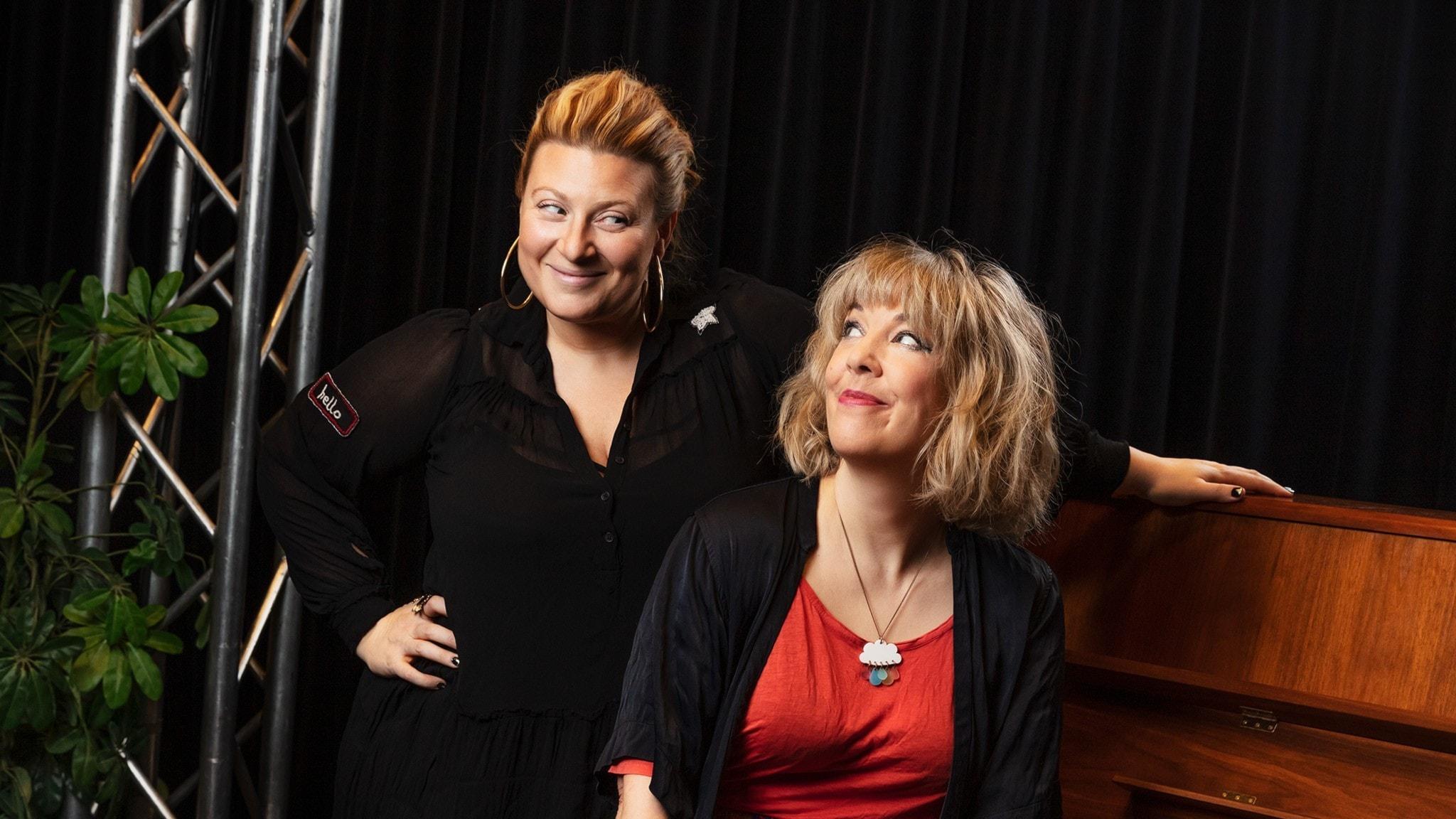 Backstage med Marit Bergman Marit Bergman träffar Sarah Dawn Finer P4 Live: Backstage  P4 Sveriges Radio